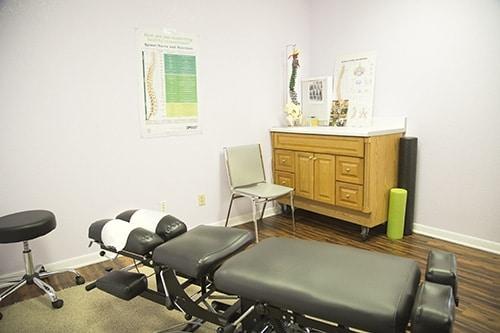 Chiropractic Killeen TX Adjustment Room