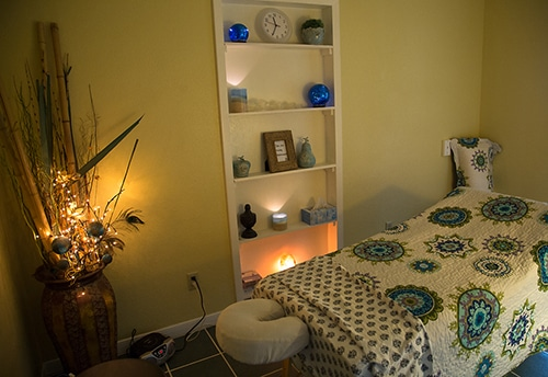Chiropractic Killeen TX Massage Therapy Room