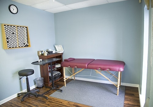 Chiropractic Killeen TX Patient Room