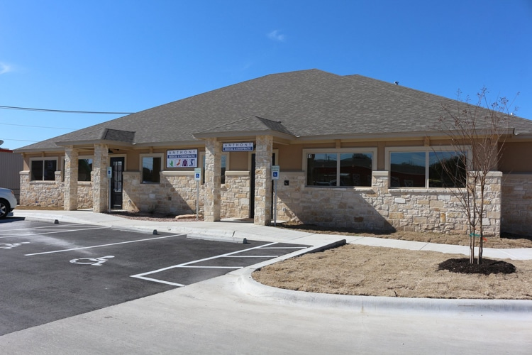 Chiropractic Temple TX Front Office Building