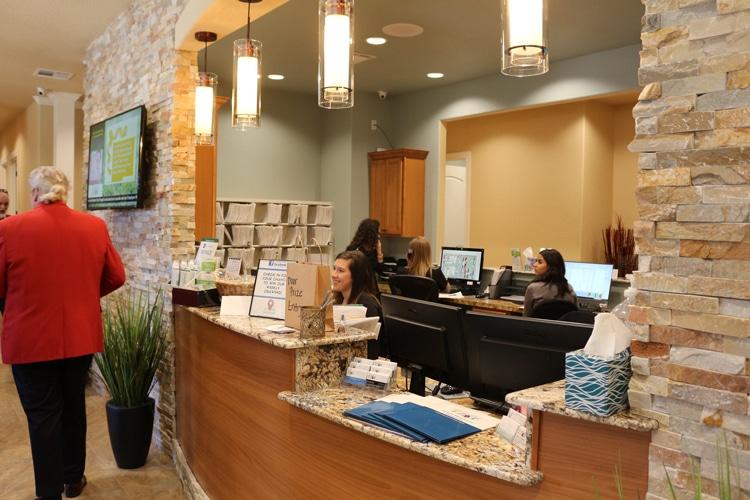 Chiropractic Temple TX Receptionist Area